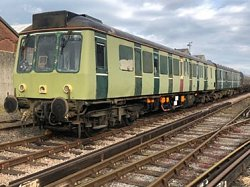 The 117 is now at Eastleigh!
